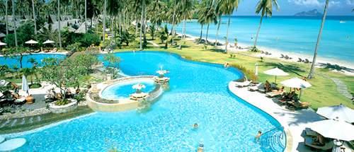 Koh Phi Phi Resort Pool area