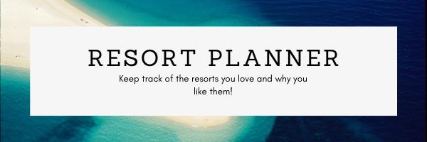 Resort Planner Banner