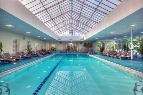 Indoor Pool at Skytop Lodge