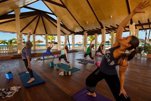 Yoga at Manchebo Beach Resort and Spa